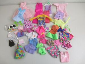 Vintage doll clothes lot fits barbies  some accessories