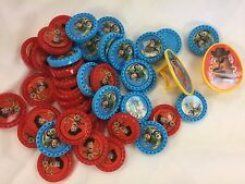 43 Disney Pixar Checkers Buzz and Woody or Crafts or Cupcake Toppers