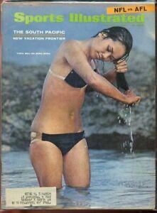 SI: Sports Illustrated January 15, 1968 Swimsuit  Turia Mau on Bora Bora G