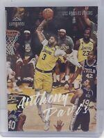 2019-20 Panini Chronicles Luminance #157 Anthony Davis Los Angeles Lakers