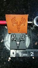 Deer Skull leather embossing stamp