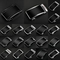 New Men Luxury Automatic Buckle Belt Leather Belts Waist Strap Ratchet Waistband