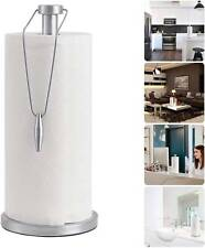 """13"""" Stand Up Paper Towel Holder Stainless Steel Kitchen Counter Top Decorative"""