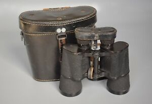 WWII German Srb & Stys BMK 7x50 Dienstglas Binoculars + Benutzer + Original Case