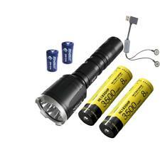 NITECORE CI7 Dual Output IR Flashlight - 2500 Lm, 7000mW w/2x 3500mAh battery, A