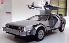 1:24 Scale Delorean DMC Back to the Future 2 II Detailed Welly Diecast Model Car