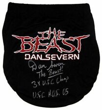 Dan Severn The Beast Autographed Signed Ufc Mma Trunks Asi Proof