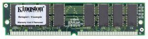 16MB Kit (2x8MB) Kingston Low Profile Fpm Simm Memory Ktc-Pent/8 Ce