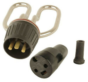 13 Amp 230V Heating Element Plug Socket + Cable Lead for BURCO Catering Kettle