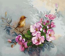 "Counted Cross Stitch Kit Luca-S - ""Birdie"""