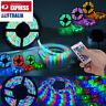 RGB LED Strip Lights Waterproof 5050 10M 600 LEDs 12V + 24 key IR Controller