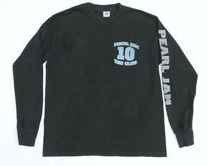 PEARL JAM 1st Ten Club T-Shirt VTG Original Fruit of the L 1991 Single Stitch
