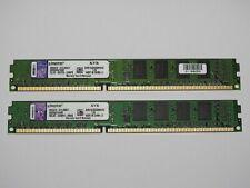 Kingston 4GB ( 2x2GB) RAM Arbeitsspeicher 1333MHz 10600U DDR3 KVR1333D3S8N9/2G