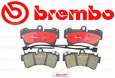 NEW Brembo Front Ceramic Brake Pad's with Sensors  fits 350mm Disc  Audi & VW