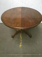 Table a pied central en acajou / Table Napoléon III