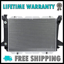 1451 New Radiator For Ford Bronco F-150 F-250 F-350 F-53 5.0 5.8 7.5 V8 2 Row