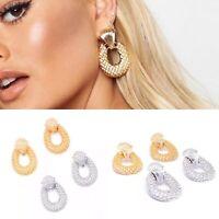 New Gold Silver Statement Chunky Boho Studs Drop Earrings Zara Style Jewelry UK