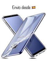 Funda Silicona Transparente Samsung Galaxy S9 Plus - Gel - Ultrafina - Silicone