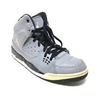 Men's Nike Air Jordan Flight SC-1 Basketball Shoes Sneaker Size 12 Gray Black F9