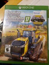 Farming Simulator 17 Walmart Exclusive (Microsoft Xbox One, 2016) New Sealed