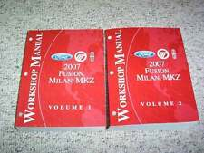2007 Lincoln MKZ Original Shop Service Repair Manual I4 Premiere AWD 3.5L V6