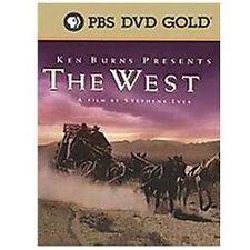 Ken Burns Presents - The West: A Film by Stephen Ives (DVD, 2005, 5-Disc Set)