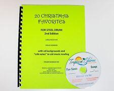 """Steel Drum Play Along Book """"20 Christmas Favorites"""""""