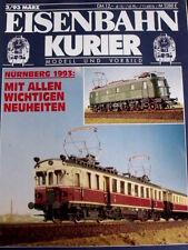 Eisenbahn Kurier n°3 1993 - Nurnberg 1993 Mit Allen wichtigen neuheiten -  Tr.21