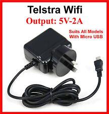 Telstra Prepaid 4G Modem WI-FI Plus My Pocket Wireless AC Wall Charger