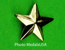 1 Star General Rank gold - collar, shirt, shoulder, hat, ball cap insignia