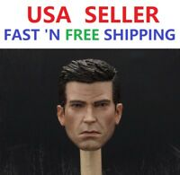 1/6 Game Version Batman Arkham Knight Bruce Wayne Head Sculpt for HOT TOYS