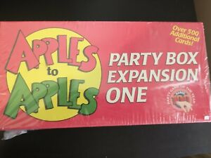 Apples To Apples Expansion One Party Box out of the box game party game