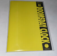 Doomsday Clock #12 SOLD OUT BLANK YELLOW VARIANT DC Superman vs Watchmen!!!