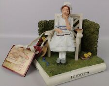 American Girl from Hallmark Bookend FELICITY 1774 The Pleasant Company