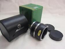 Vintage SLR Film Camera No.1 & No.2 x 2 Converter Makinon Boxed For OM Olympus