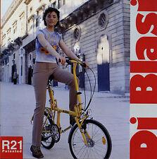 Prospekt Di Blasi R21 2/03 Fahrradprospekt 2003 I F E GB D NL Faltrad Fahrrad
