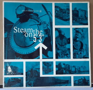 """STEAM ON THE 5'3"""" - SOUNDS OF A PASSING ERA IN VICTORIA AWA RECORDINGS CUSTOM LP"""