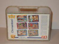 Clementoni 24 Piece Disney Pinnochio Block 6 in 1 Puzzle in Case RARE