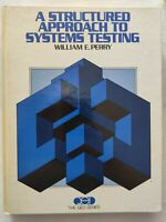 BOOK A STRUCTURED APPROACH TO SYSTEMS TESTING WILLIAM E. PERRY 0138543739