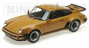 PORSCHE 911 930 TURBO - 1977 - senf gelb - Minichamps 1:12 - 125066113