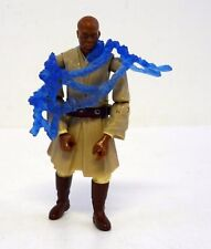STAR WARS MACE WINDU Revenge of the Sith Action Figure ROTS NEAR COMPLETE 2005