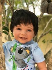 "Reborn 22""Toddler Boy Doll ""Kyle"" Koala Rescue"
