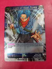 DRAGONBALL SUPER CARD GAME LIGHT OF HOPE TRUNKS FOIL MINT P-005 PR