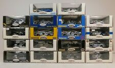 18 GEARBOX 1:43 POLICE CARS VEHICLES INTERCEPTORS LOT