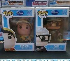Funko POP! Disney UP 60 RUSSELL 59 CARL Grail set#3 100% AUTHENTIC FUNKO