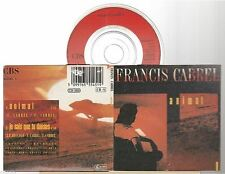 "FRANCIS CABREL animal CD SINGLE 8cm 3""inch"
