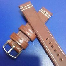 22mm Correa Reloj cuero Pulsera Leather Watch Band Strap