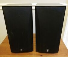 New listing Pair Of Yamaha Bookshelf Speakers Ns-Ap4400M Tested Work Great Free Shipping