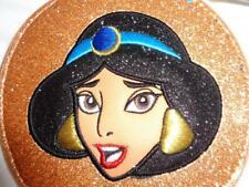 Nwt Danielle Nicole Jasmine Aladdin Gold Glitter Coin Purse Wallet Embroidered