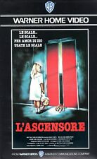 L' Ascensore (Usa 1983) VHS Warner 1a Ed. Dick Mass  Huub Stapel J. Van Dalsum